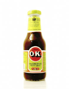 OK Fruity Sauce by Colmans | Buy Online at the Asian Cookshop